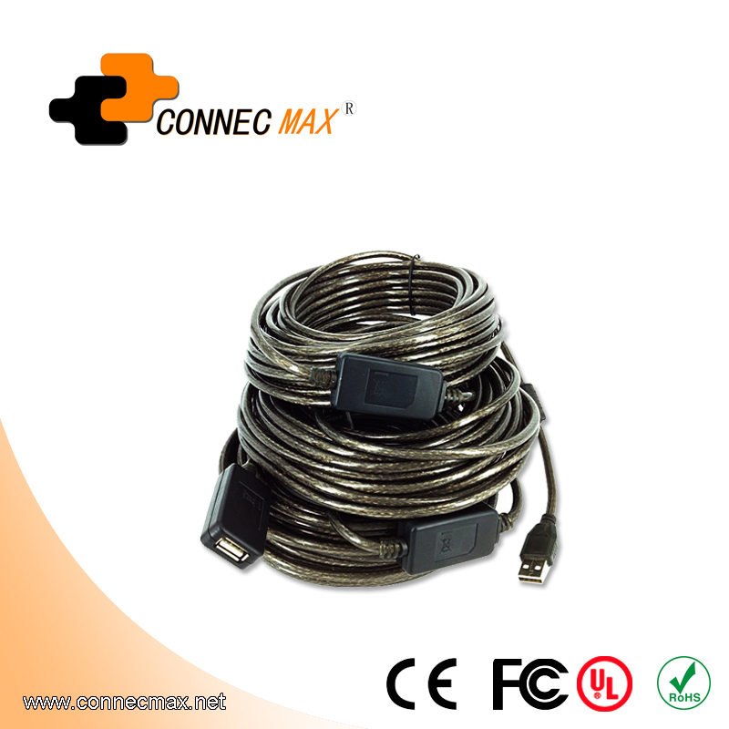 40m USB 2.0 Repeater Cable