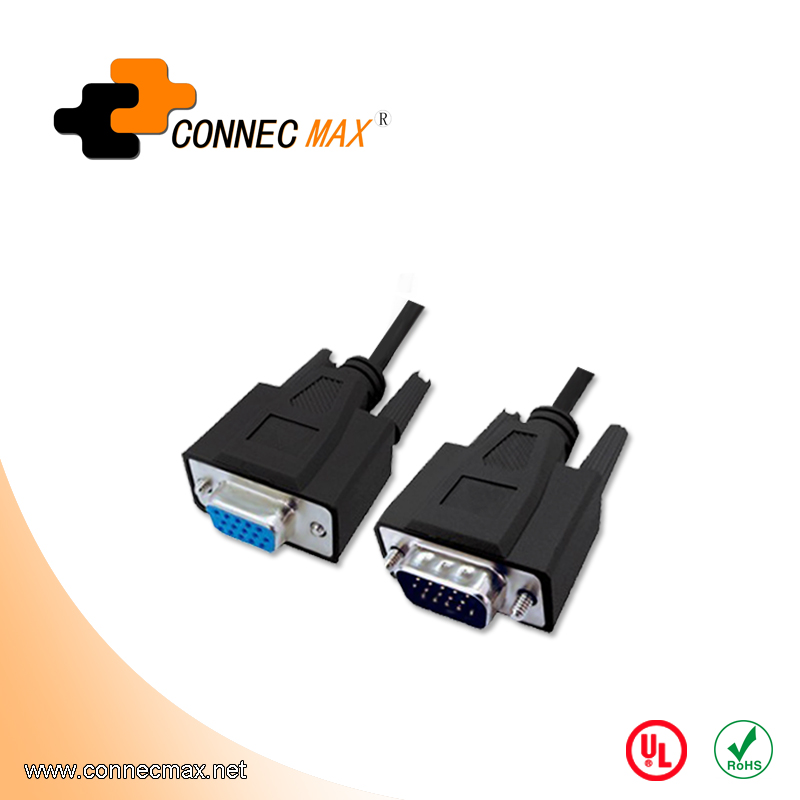 VGA Male to Male/Female Extension Cable