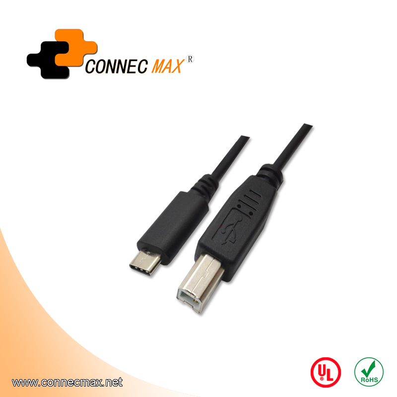 USB 3.1 type C to USB 2.0 BM male to male cable
